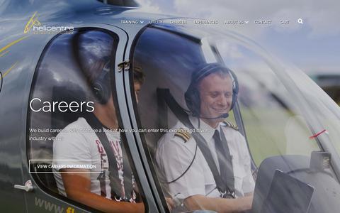 Screenshot of Jobs Page flyheli.co.uk - Careers | Helicentre Aviation Ltd - captured Sept. 28, 2018