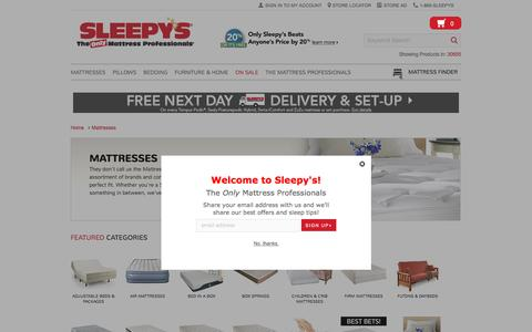 We've Got The Mattress For You - Sleepy's