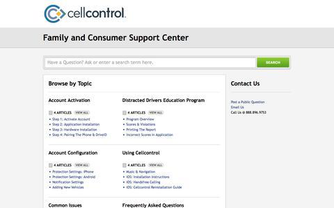 Cellcontrol |        Portal