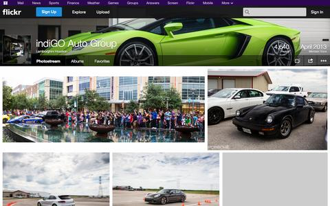 Screenshot of Flickr Page flickr.com - Flickr: Lamborghini Houston's Photostream - captured Oct. 22, 2014