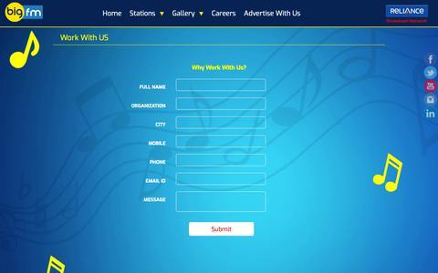 Screenshot of Jobs Page 927bigfm.com - 92.7 Big FM | Contact Us - captured Oct. 4, 2018