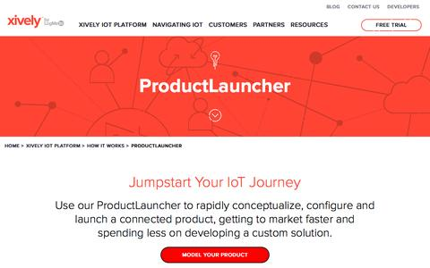 ProductLauncher | Xively by LogMeIn