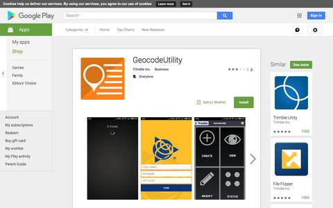 GeocodeUtility - Android Apps on Google Play