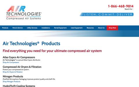 Air Technologies® Compressed Air Products