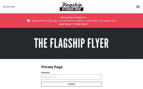 Screenshot of Team Page flagshiprestaurantgroup.com - The Flagship Flyer - Flagship Restaurant Group - captured Nov. 6, 2018
