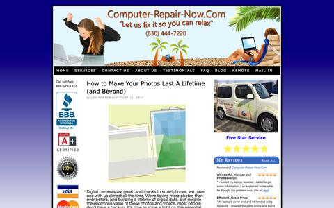 Screenshot of Blog computer-repair-now.com - Computer Repair Blog by Computer-Repair-Now.Com - captured Aug. 20, 2017