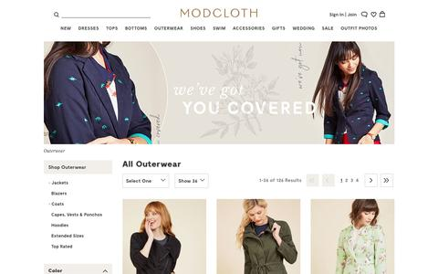 Cute Vintage-Inspired Outerwear | ModCloth