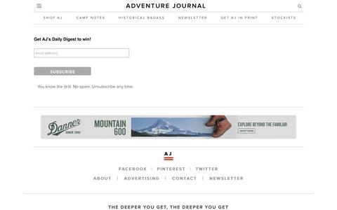 adventure journal   –  Newsletter