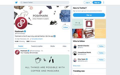Tweets by Poshmark (@Poshmarkapp) – Twitter