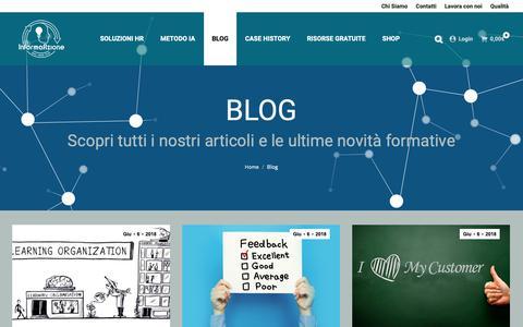 Screenshot of Blog informaazione.org - Blog – Informaazione - captured Oct. 12, 2018