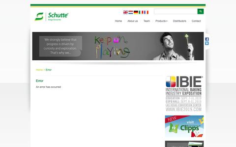 Screenshot of Team Page schutte.nl - Schutte.nl - Welcome to Schutte bagclosures BV - captured Oct. 2, 2018