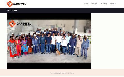 Screenshot of Team Page gardwelindustries.com - The team - Gardwel Industries - captured July 16, 2018
