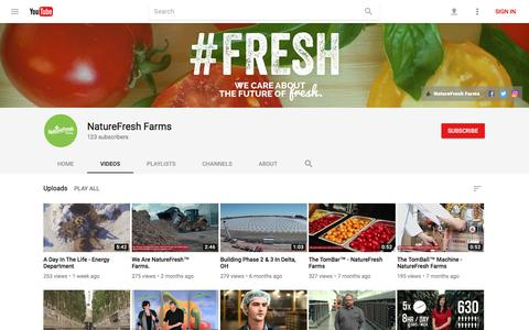 NatureFresh Farms - YouTube