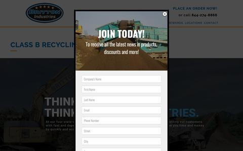 Screenshot of Locations Page brittonindustries.com - Britton Recycling Centers | Britton Industries: Proudly Serving NJ & PA For Over 27 Years - captured Oct. 6, 2018
