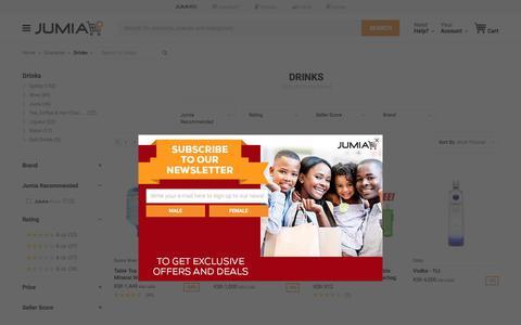 Drinks - Buy online | Jumia Kenya