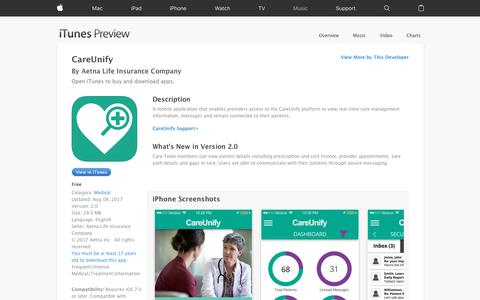CareUnify on the App Store