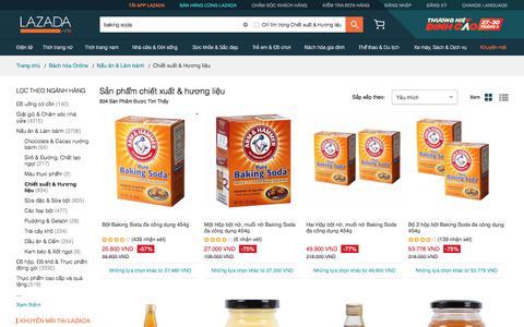 Mua online chiết xuất & hương liệu chất lượng cao | Lazada