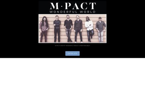 Screenshot of Home Page m-pact.com - m-pact - captured Sept. 30, 2018