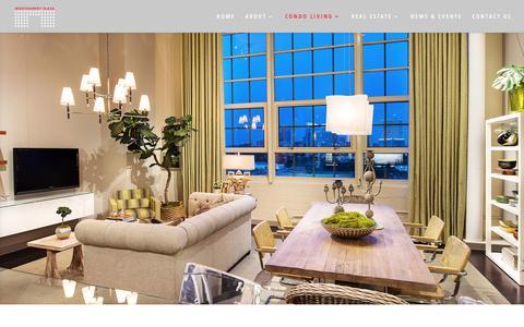 Screenshot of Services Page montgomeryplaza.com - Fort Worth Condos | Montgomery Plaza Services | Luxury Condominiums - captured Oct. 26, 2017