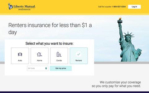 Insurance Quote | Liberty Mutual
