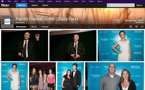 Screenshot of Flickr Page flickr.com - Flickr: PacificFriends' Photostream - captured Oct. 22, 2014