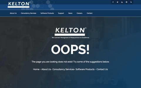 Screenshot of Login Page kelton.co.uk - Page Not Found - KELTON - captured Aug. 6, 2015