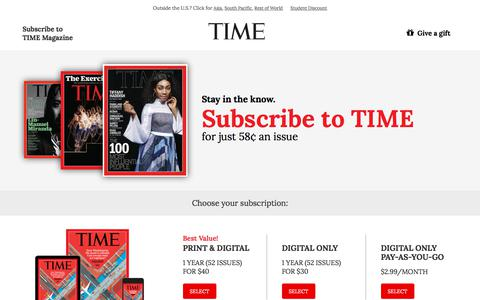 Time Magazine | Competitive Intelligence and Insights | Crayon