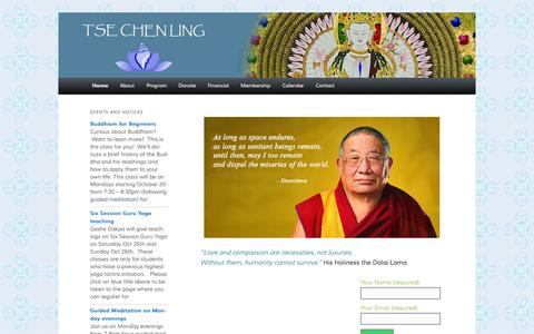 Tse Chen Ling   Land of Great Compassion