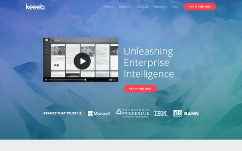 Keeeb Unleashing Enterprise Intelligence
