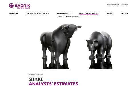 Investor Relations - Evonik Industries AG