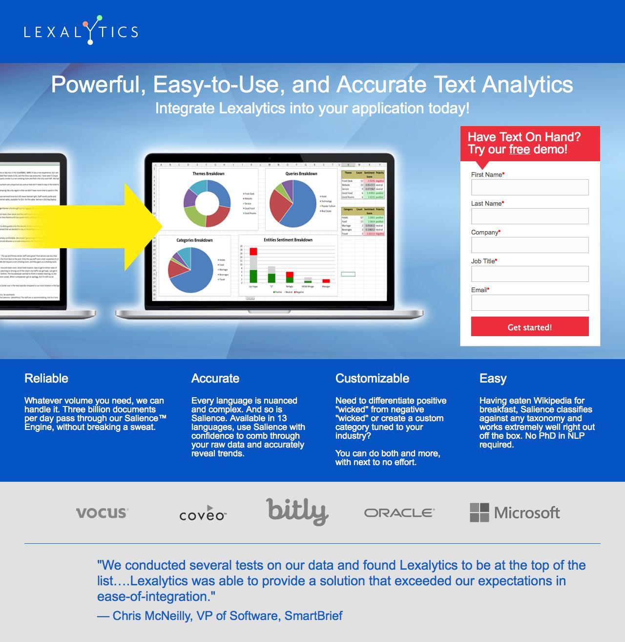 Screenshot of lexalytics.com - Lexalytics - captured Oct. 28, 2014