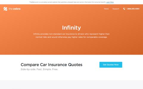 Compare Infinity Insurance Quotes in Seconds | The Zebra