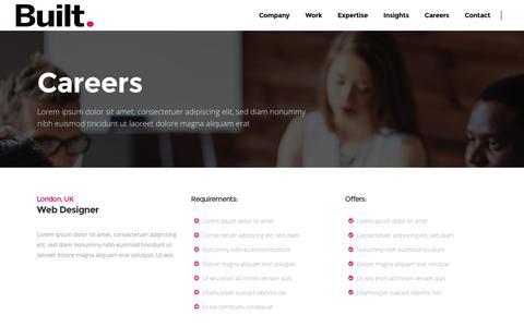 Screenshot of Jobs Page builtinteractive.com - Careers - Built Interactive - captured Nov. 23, 2016