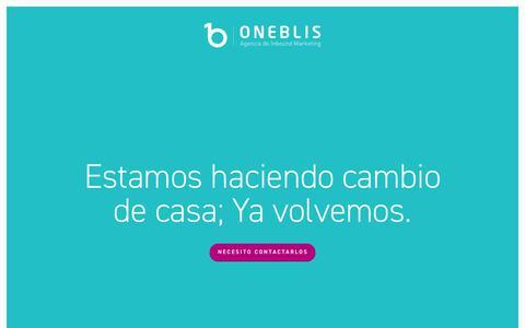OneBlis | Agencia de Marketing Digital e Inbound Marketing