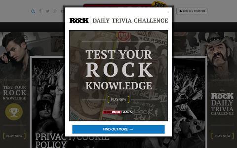 Screenshot of Privacy Page teamrock.com - TeamRock - captured July 16, 2015