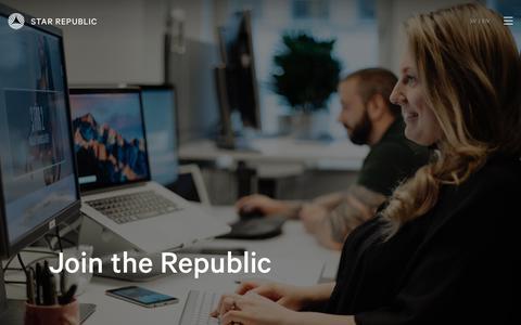 Screenshot of Signup Page starrepublic.com - Join Star Republic - captured June 17, 2017