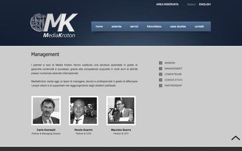 Screenshot of Team Page mediakroton.com - Management - MediaKrotonMediaKroton - captured Oct. 27, 2014