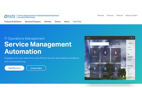 Service Management Automation Suite