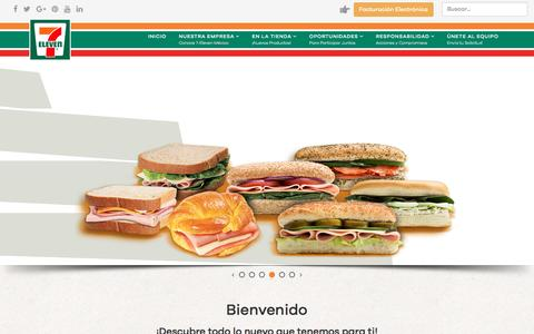 Screenshot of Home Page 7-eleven.com.mx - 7-Eleven México | 7-Eleven México - captured Aug. 22, 2016