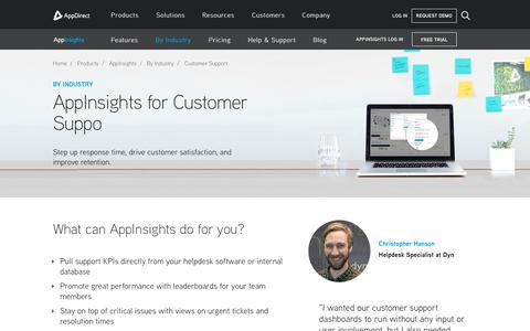 Screenshot of Support Page appdirect.com - Customer support dashboards - AppDirect - captured July 12, 2018