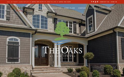 Screenshot of Home Page jimmynashhomes.com - Jimmy Nash Homes | Custom Luxury Home Builder | Lexington, Kentucky - captured Nov. 17, 2017