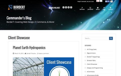 Client Showcase Archives - Border7 Studios