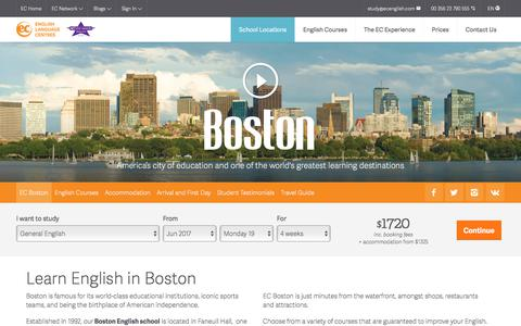 Learn English in Boston – Boston English School - ESL Boston