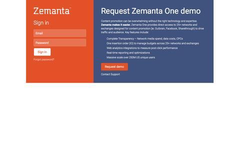 Zemanta One