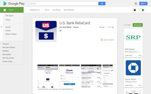 U.S. Bank ReliaCard - Apps on Google Play