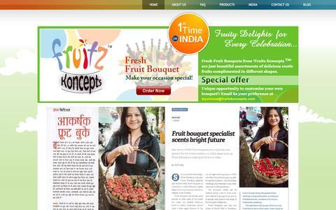 Screenshot of Press Page fruitzkoncepts.com - Fruitz Koncepts in Media - captured Feb. 10, 2016