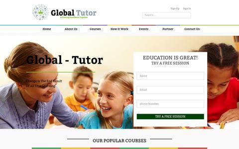 Global Tutors   Home