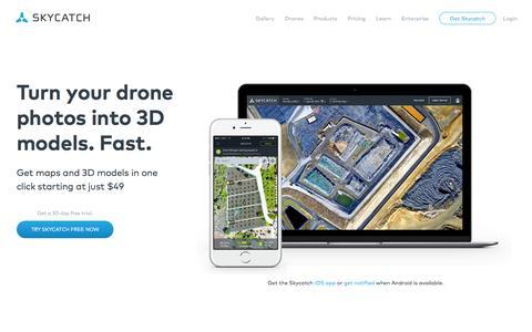Skycatch: Drone Image Processing Platform