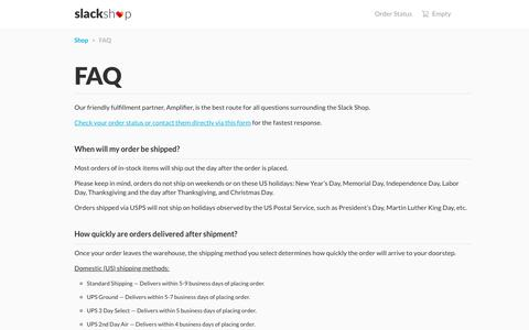Software FAQ Pages on Shopify | Website Inspiration and Examples