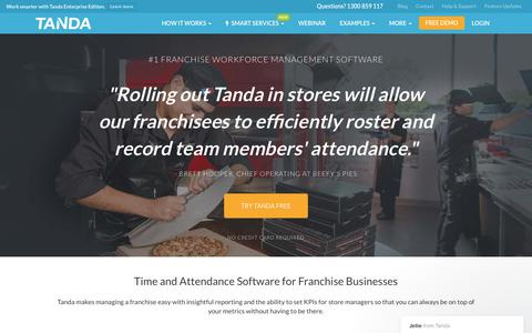 Franchise Time & Attendance | Rostering for Franchise Businesses